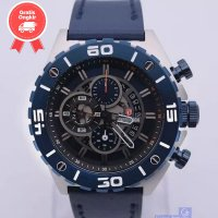 JAM TANGAN PRIA EXPEDITION E6755 BLUE SILVER ORIGINAL