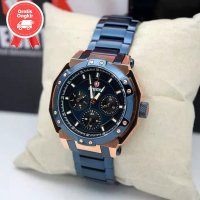JAM TANGAN WANITA EXPEDITION E6385 /6385 ROSEGOLD BLUE ORIGINAL