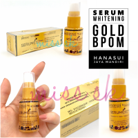 Hanasui Jaya Mandiri Serum whitening Gold BPOM / serum emas collagen