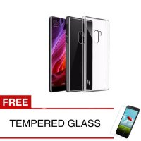 Case for Xiaomi Mi Mix 6.4' - Clear + Gratis Tempered Glass - Ultra Thin Soft Case
