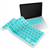 Solid Color Silicone Keyboard Cover Protector Skin for Macbook Air 11.6 Inch - Blue