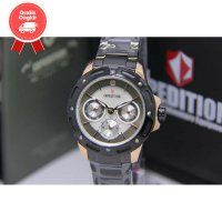 JAM TANGAN WANITA EXPEDITION E6760 ROSEGOLD BLACK ORIGINAL