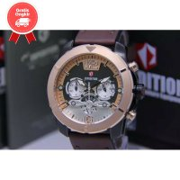 JAM TANGAN PRIA EXPEDITION E6761 ROSEGOLD BROWN ORIGINAL