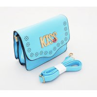 Kiss Korean Bag Series | Tas Selempang |Tas Wanita | Tas Import| Biru | ADXHBK