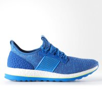 Adidas Sepatu Lari Running Casual PURE BOOST ZG Blue Original AQ2929