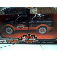 Die Cast 2 in 1 Maisto HD Custom ( MOBIL + MOTOR HD ) NO.1