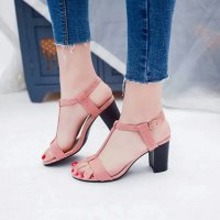 HIGH HEELS HAK TAHU T STRAP GD02 SALEM