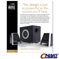 Altec Lansing VS2621 2.1 Channel Speaker System VS-2621