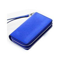 [macyskorea] Contacts Womens Genuine Leather Car Key Holder Double Zipper Phone Wallet Clu/17239441