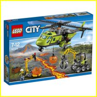 LEGO 60123 - City - Volcano Supply Helicopter