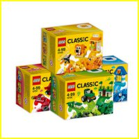LEGO 10706-10709 - Brick and More - Lego Classic Green Creativity Box