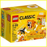 LEGO 10709 - Brick and More - Lego Classic Orange Creativity Box