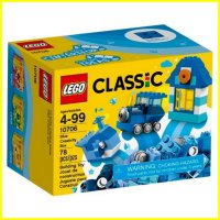 LEGO 10706 - Brick and More - Lego Classic Blue Creativity Box
