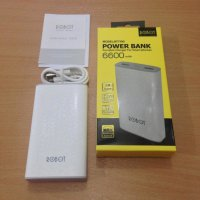 Vivan Robot PowerBank RT7100 6600 mAh Original Power Bank 6600mAh