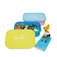 [SOPHIE MARTIN] SET 2 pcs LUNCH BOX COUPLE X1347M4 BIRU PINK KOTAK MAKAN BEKAL TEMPAT