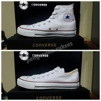 Converse basic white/converse all star/sneakers/casual/original