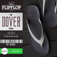 Sandal Jepit Sandal Pria Sandal Flip Flop CAMOU - WR Coffee/Cappuccino - DoverCoffee, 39