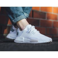 Sepatu Adidas Nmd R1 white/tactile green - Premium high quality