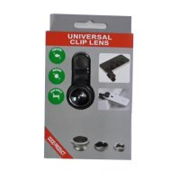 Universal Clip Lens 3 in 1 (Macro, Wide, Fish Eye) SJ0037