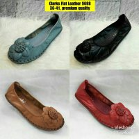 New!! Sepatu Flat Leather Clarks 9688
