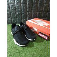 Sepatu NIKE Sock Dart KJCRD Black White Premium High Quality