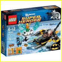 LEGO 76000 - Super Heroes - Arctic Batman vs Mr Freeze: Aquaman on Ice