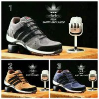 TERMURAH!!! Adidas Felix Suede Safety Import - Navy, 39