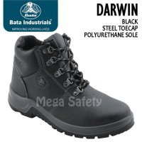 Sepatu Safety Shoes Darwin Black