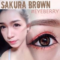 Softlens EyeBerry SAKURA / Soft Lens Eye berry / Eyebery