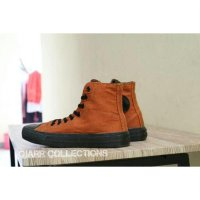 Sepatu Converse All Star Hi High Chuck Taylor Coklat Brown Grade Ori