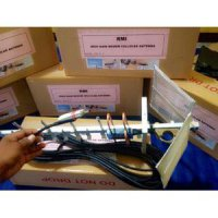Jual Antena Yagi Grid Triple Driven 85dBi/35 KM/ Penguat Sinyal Modem