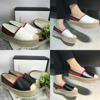 JNDS21 restok gucci sneakers IMPORT premium white/cream/black/red