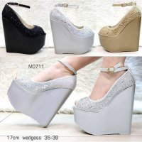 Exclusive Diamond Party Wedges Import