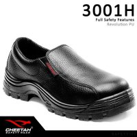 Sepatu Safety Shoes Cheetah 3001H - Hitam, 5
