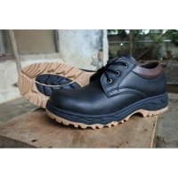 safety shoes pendek by sportex - Hitam, 39