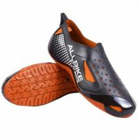 Sepatu Motor Biker ALL BIKE Orange Karet ALLBIKE Hitam Orange AP BOOTS - Orange, 40
