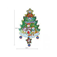HO4592 - Dekorasi Natal Christmas Tree Snow Doll