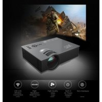 Proyektor MINI Profesional 1200 Lumens Home Theater Media Player WIFI