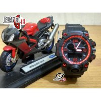 New Jam Tangan Sporty Wanita / Anak BGA-1000 Black Red