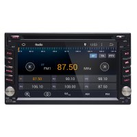 Ownice C200 Car Dashboard Audio DVD Player GPS Quad Core Android 4.4.4 - Black