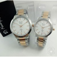 Promotion...!!! Jam Tangan Couple Alexandre Christie Stainless #3
