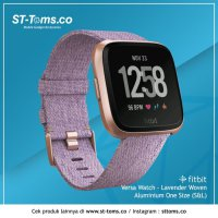Fitbit Versa Watch - Lavender Woven One Size #40;S L#41;