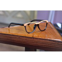 kacamata kayu original model oakley grounded glossy