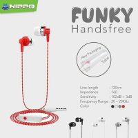 Hippo Funky Handsfree Headset Earphone