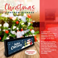 PROMO CHRISTMAS FAIR - Light Box Signage - Free Product