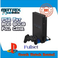 PS2 Fat N/A 80GB Fullgame