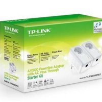 Tp Link Tl-pa4010p Kit : Av500 Powerline Adapter With Ac Pass Through