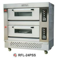 GETRA RFL-2CPSS Gas Pizza Deck Oven / Electric Pizza Oven / Oven Pemanggang Pizza Gas dan Listrik