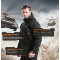 [Sale] Jaket TAD Tactical Jackets Soft Shell Waterproof Army Water Resistant