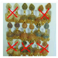 anting india jhumka by laila